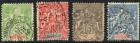 Indochina 1899 -1901 New Colors Joblot Collection of Fine USED Stamps