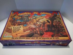 Vintage 1983 Crossbows and Catapults Battle Game Set 1983 Lakeside PLEASE READ