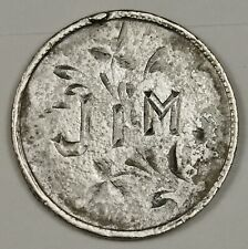 "Canada Dime. Love Token. ""Jim."" 143475"