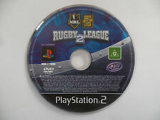 NRL RUGBY LEAGUE 2 PlayStation 2 / PS2 - DISC ONLY