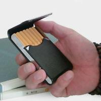 Aluminum Cigar Cigarette Case Tobacco Holder Pocket Box Storage Container new