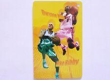 NBA Miami Heat DWYANE WADE & Sacramento Kings MIKE BIBBY Basketball Card