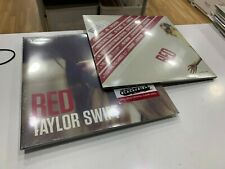 TAYLOR SWIFT 2 LP RED  RSD 2019 CRYSTAL CLEAR VINYL SEALED