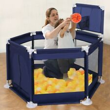 Portable&Travel Playpen Tent Safe Ball Pool Play House Play Space Children Baby