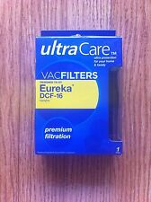 Ultra Care Vac Filter Designed to Fit Eureka DCF-16 Uprights - New