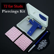 Safety Professional  Piercing Gun  Stainless Steel Ear Nose  Navel Piercing