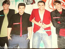 Sexy german Big Time Rush Poster wow tolle Boy Band very hot guy s