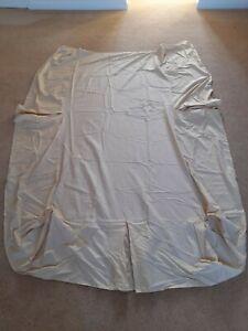 Belledorm single cream fitted valance sheet