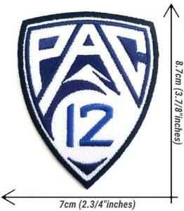 Pac-12 Conference NCAA Sport Patch Logo Embroidery Iron,Sewing on Fabric