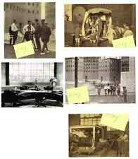 METROPOLIS 1927 UFA 5 MOVIE PHOTO LOT GERMAN SILENT SCI-FI FRITZ LANG ROBOT NEW