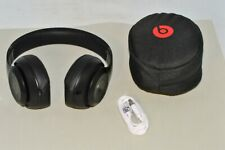 Beats Studio3 Wireless Noise Canceling Over-Ear Headphones - Matte Black w Pouch