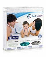 Waterproof Mattress Protector - Twin, Full, Queen, King - Breathable Soft Cotton
