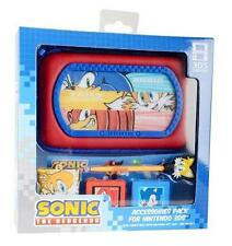 Sonic The Hedgehog Nintendo 3DS/Dsi Ds Lite 6 en 1 Accesorio Pack Caja Stylus