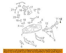 TOYOTA OEM 95-04 Tacoma 3.4L-V6 Fuel System-Pipe Shield Cushion 9054106058