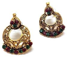 Golden Oxidized Women Earring Bali Jhumka Jhumki Jewelry PushBack Classy Gift 53