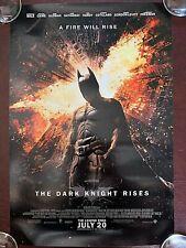 "Batman The Dark Night Rises poster 11.5x17"" NEW Rolled"