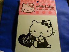 Hello Kitty Car Window Decals heart