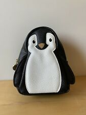 Bath & Body Works Penguin Makeup Cosmetic Zip Bag Pouch New Cute