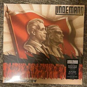 Lindemann ( Rammstein ) - Live in Moscow Limited 2 Red Vinyl LP NEU