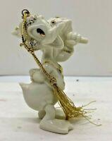 "LENOX Ornament DISNEY Donald Duck ""Totin the Tree"""