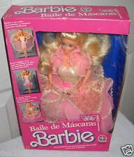 #7667 RARE NIB Estrela Brazil Baile De Mascaras Barbie Doll