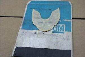 NOS GM OEM PONTIAC FIREBIRD ROOF SIDE DECAL STICKER BADGE ORNAMENT 10002976