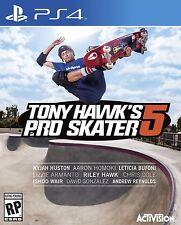 NEW Tony Hawk's Pro Skater 5 (Sony PlayStation 4, 2015)