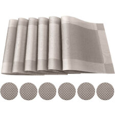 Random Remember Tischsets 4er-Set 44 x 28.5 cm Kunststoff NEU