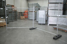 Temporary Fencing Fence Set (Panel, Base & Clamp)