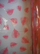 100 X 80cm De Ancho Tilly floristería Craft Celofán Roll Rosa Film Envoltorio De Regalo obstaculizar