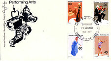 1977 Performing Arts FDC - Chatswood NSW 2067 PMK