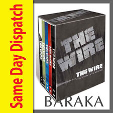 The Wire: Complete HBO Season Series 1 2 3 4 5 DVD Box Set 1 - 5 boxset New