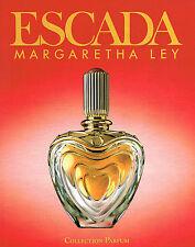 PUBLICITE ADVERTISING  1993   ESCADA  collection parfum  MARGARETHA LEY