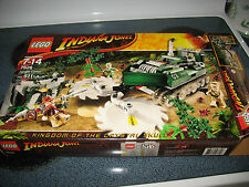 Lego Indiana Jones and the Kingdom of the Crystal Skull.  Used but complete.