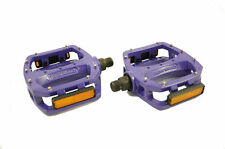 "DIAMONDBACK BIGFOOT 2 PEDALS FLAT PLATFORM 9/16"" FOR BMX MTB PURPLE 50% OFF"