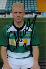 YEOVIL: CRAIG ALCOCK SIGNED 6x4 PORTRAIT PHOTO+COA