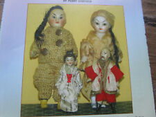 9pg RARE All Bisque Dolls of Color Doll History Article / Hadfield