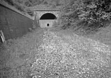 PHOTO  THE SOUTHERN PORTAL OF CHEDWORTH TUNNEL ON 29TH MAY 1968
