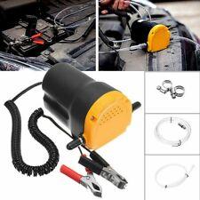 Pompe éléctrique a vidange pour huile et gazoil par aspiration 12V voiture Auto