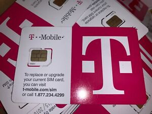 Box of 185 T-Mobile Micro SIM Card ZZZ260R043 •••EXPIRED••••✅❤️️✅❤️️✅❤️️