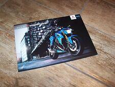 Catalogue /  Brochure SUZUKI GSX-S1000 F ABS 2015  //