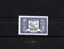 MONACO  timbre  poste aérienne  avion  300f     num: 42   *