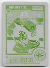 14/15 O-PEE-CHEE PLATINUM ROOKIES YELLOW PRINTING PLATE #199 Seth Griffith 1/1