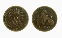 pci3863) BELGIO - Leopoldo I (1831-1865) - 1 centime 1859