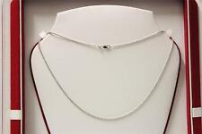 18ct/750 stunning attractive white gold chain*Boxed*