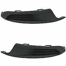 2PC Set 2011-2014 VW JETTA Front Bumper LH & RH Fog Bezel Insert Grille NEW PAIR
