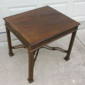 Drexel Heritage Mahogany End Table
