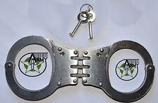 Handschelle mit Gelenk US Police Gelenkhandschelle Army Handcuffs Hand Fessel