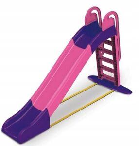 Kinderrutsche Rutsche Gartenrutsche Kunststoff Leiter Garten für Kinder 243 cm