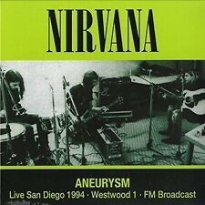 """Nirvana - Aneurysm - Live San Diego 1994 Westwood 1 (Ltd 12"""" LP Vinyl) NEU+OVP!"""